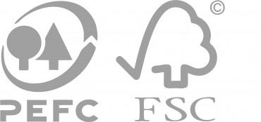 FSC ir PEFC sertifikatai