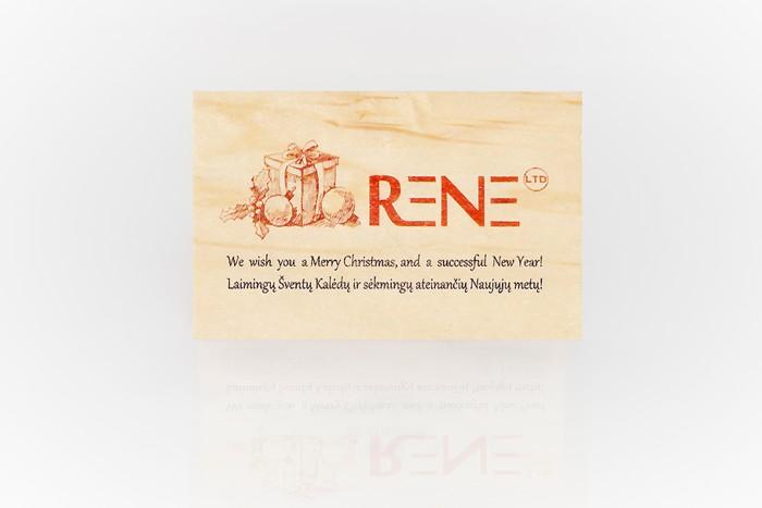 Atvirukas su logotipu